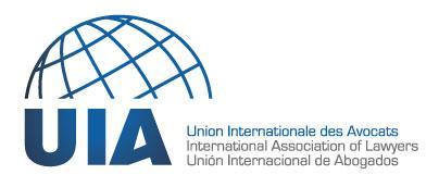 UNION INTERNATIONALE DES AVOCATS-UIA